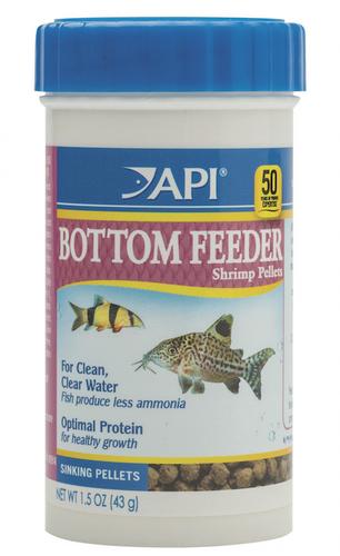 API Bottom Feeder Shrimp Pellets 37gm