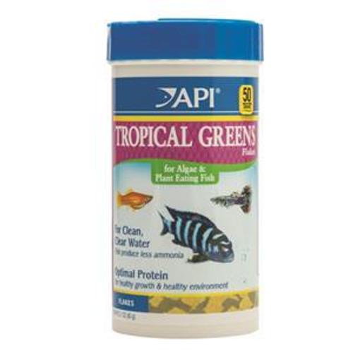 API Tropical Greens Flakes 60gm