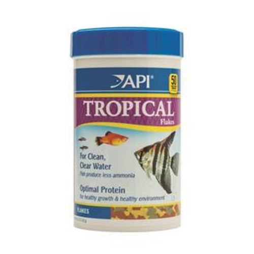 API Tropical Flake Food 162gm