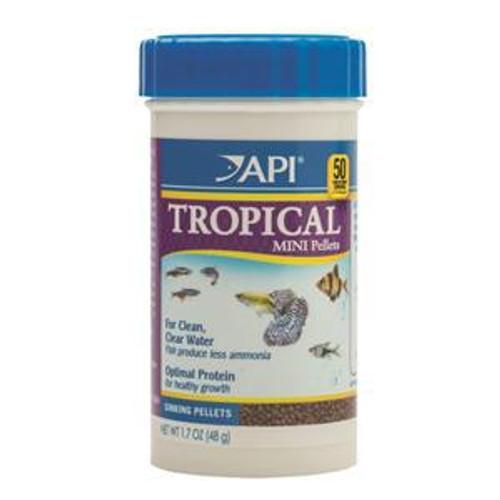 API Tropical Pellet Food (Mini) 48gm