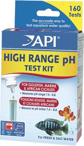 API pH High Range Test Kit - Fresh/Saltwater