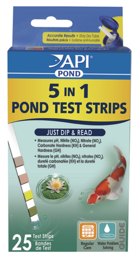 API Pond 5 in1 Quick Test Strips