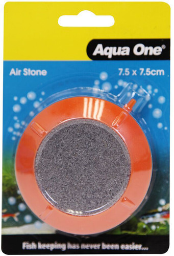 Aqua One Airstone PVC Encased Air Disk Small 7.5cm (14043)