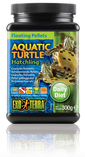 Exo Terra Aquatic Turtle Food Hatchling Floating Pellets - 300 gm (PT3244)