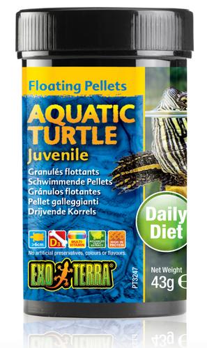 Exo Terra Aquatic Turtle Food Juvenile - 43gm (PT3247)