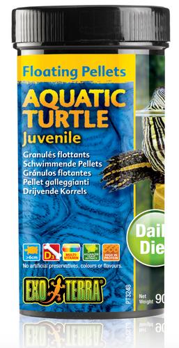 Exo Terra Aquatic Turtle Food Juvenile - 90gm (PT3248)
