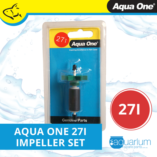 Aqua One 103F Maxi Internal & 103 Powerhead Impeller Set 27i (25027i)