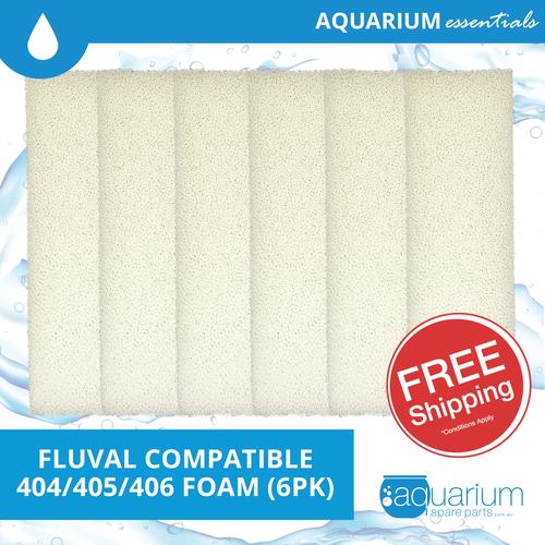 Fluval 404/405/406 Compatible Foam (6pk)