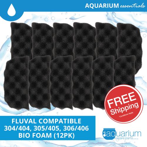 Fluval 304/404 & 305/405 & 306/406 Compatible Bio Foam (12pk)