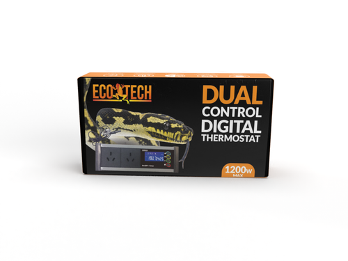 Eco Tech Dual Control Electronic Advanced Reptile Thermostat