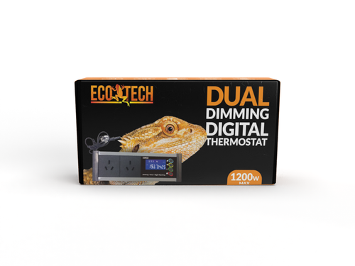 Eco Tech Advanced Reptile Thermostat with Day/Night Function and Electronic Dimming