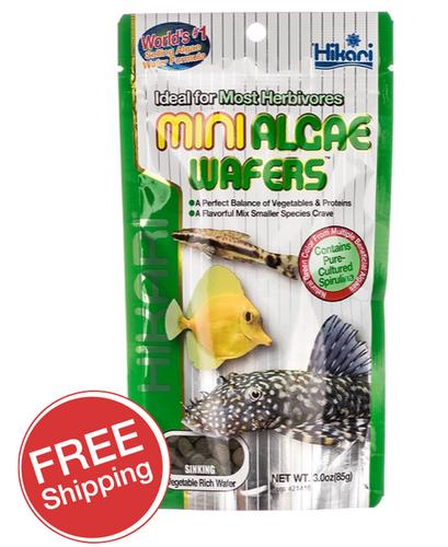 Hikari Mini Algae Wafters 85gm (KH21416)