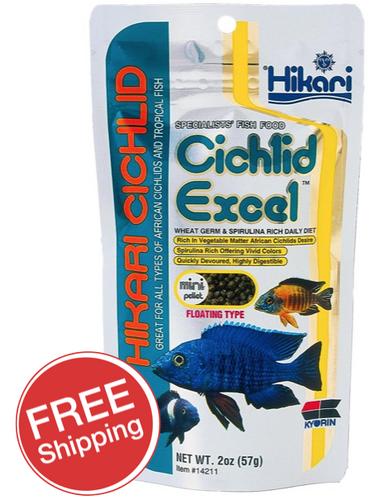 Hikari Cichlid Excel Mini 57g (KH14211)