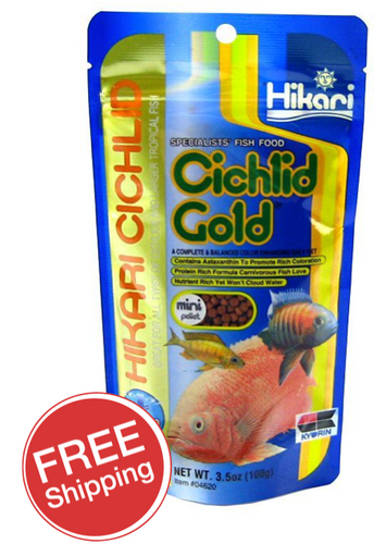 Hikari Sinking Cichlid Gold Mini 100gm (KH04620)