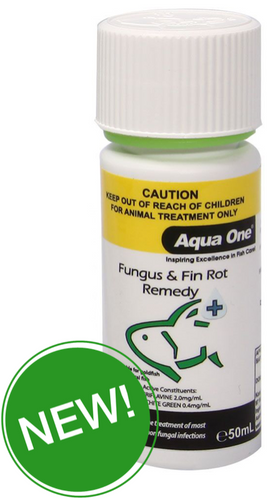 Aqua One Fungus & Finrot Remedy 50ml (92121)