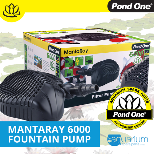 Pond One MantaRay 6000 Fountain Pump (93008)