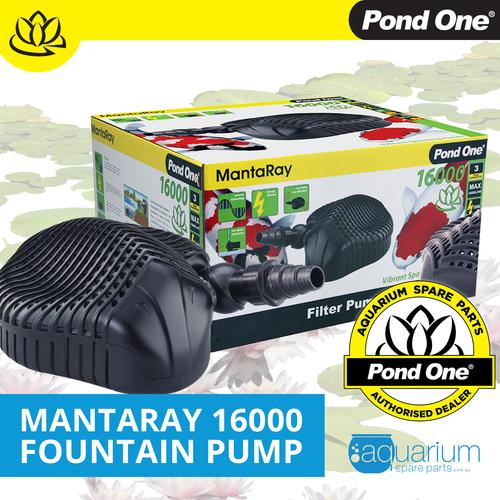 Pond One MantaRay 16000 Fountain Pump (93010)