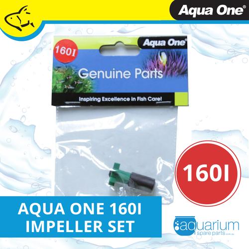 Aqua One Focus 25/36 LED & AquaBac 100 Impeller Set 160i (25160i)