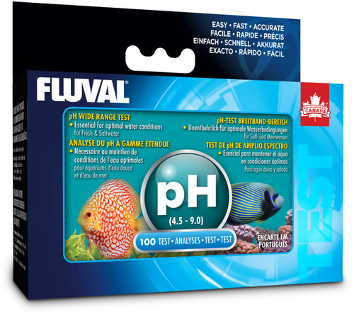 Fluval pH Wide Range Test Kit (100 tests)