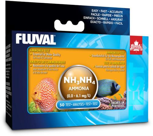 Fluval Ammonia Test Kit (50 tests)