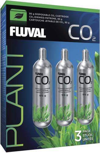 Fluval Pressurized CO2 Disposable Cartridges - 95gm (3pk)
