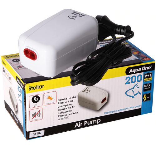 Aqua One Stellar 200 Air Pump 200LH (94134)
