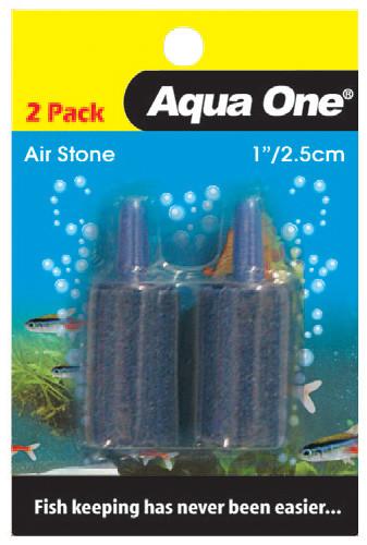 Aqua One Air Stone 1 Inch/2.5cm (2pk) (10144)