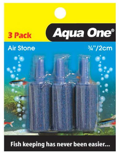 Aqua One Air Stone 3/4 Inch 2.5cm (3pk) (10328)