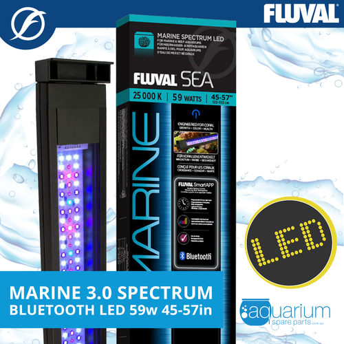 Fluval Sea Marine 3.0 Spectrum LED w/ Bluetooth 59w 115-145cm