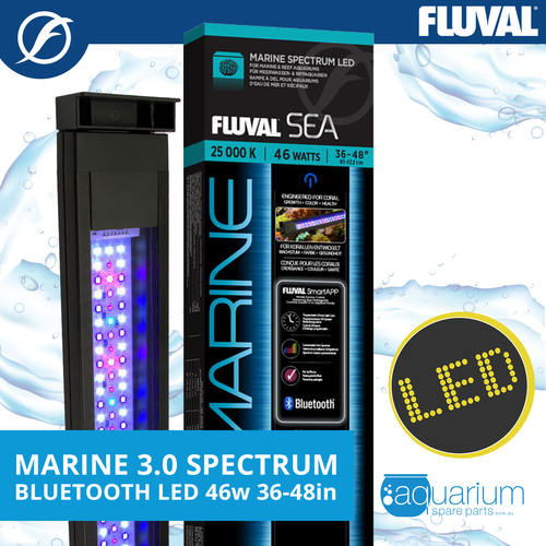 Fluval Sea Marine 3.0 Spectrum LED w/ Bluetooth 46w 91-122cm