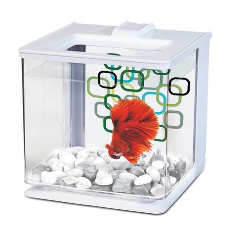 Marina Betta EZ Care Aquarium 2.5L - White