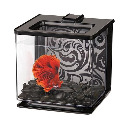 Marina Betta EZ Care Aquarium 2.5L - Black