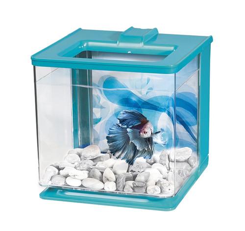 Marina Betta EZ Care Aquarium 2.5L - Blue