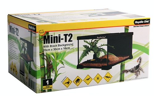 Reptile One Glass Tank Mini T2 20 x 30 x 16cm (46193)