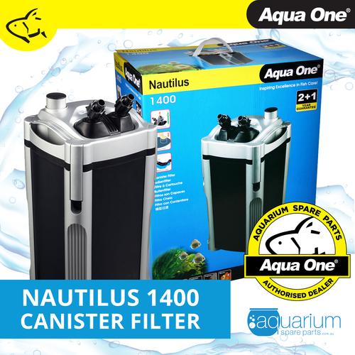 Aqua One Nautilus 1400 Canister Filter (94114)