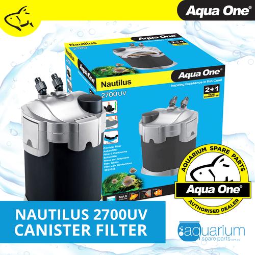 Aqua One Nautilus 2700UV Canister Filter (94116)