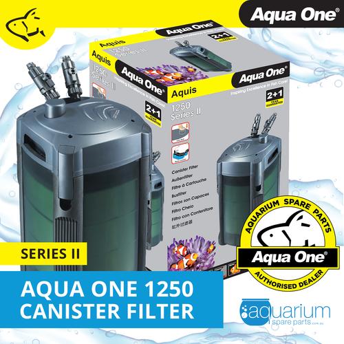 Aqua One Aquis 1250 Series II Canister Filter (94104)