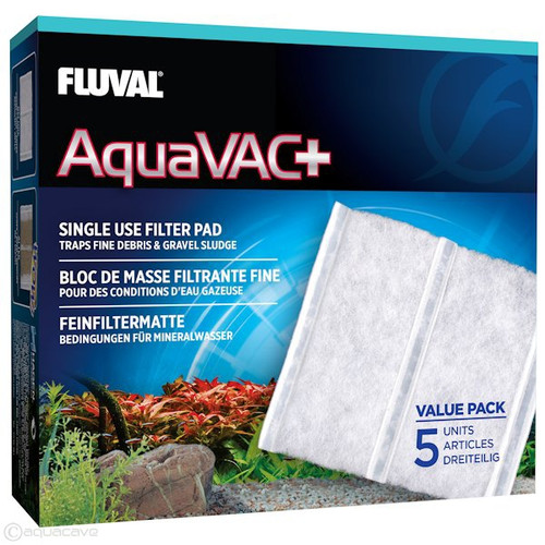 Fluval AquaVAC Replacement Fine Filter Pad (5pk)