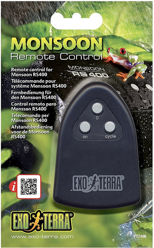 Exo Terra Monsoon RS400 Remote Control (PT2496)