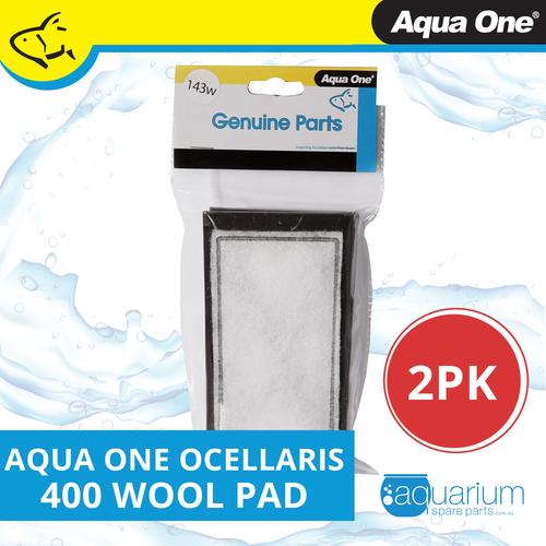 Aqua One Ocellaris 400 Wool Pad 2pk 143w (25143w)