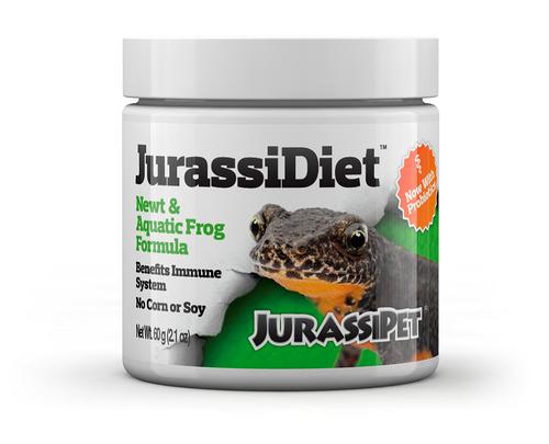JurassiDiet Newt & Aquatic Frog Formula w Probiotic 60g
