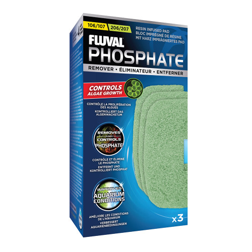 Fluval 106/206 & 107/207 Phosphate Remover (3pk)
