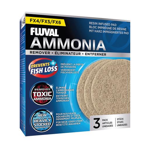 Fluval FX4/FX5/FX6 Ammonia Remover (3pk)