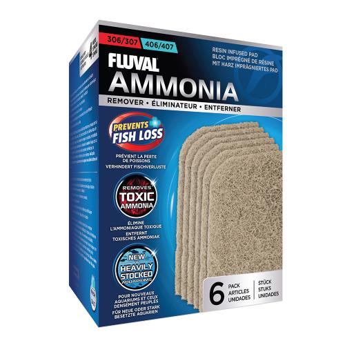 Fluval 306/406 & 307/407 Ammonia Remover (6pk)