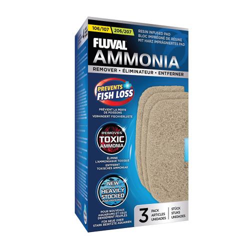 Fluval 106/206 & 107/207 Ammonia Remover (3pk)