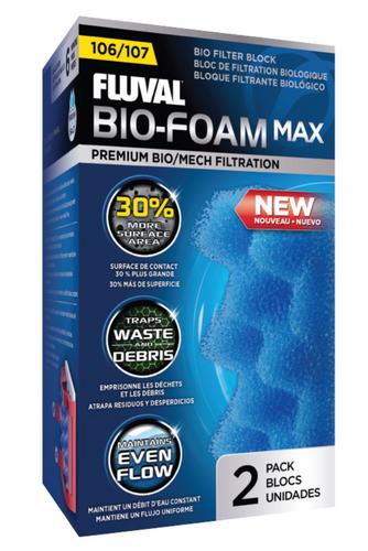 Fluval 105/106/107 Bio Foam MAX (2pk)