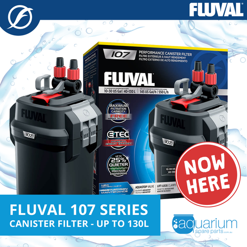 Fluval 107 Canister Filter (up to 130 L)