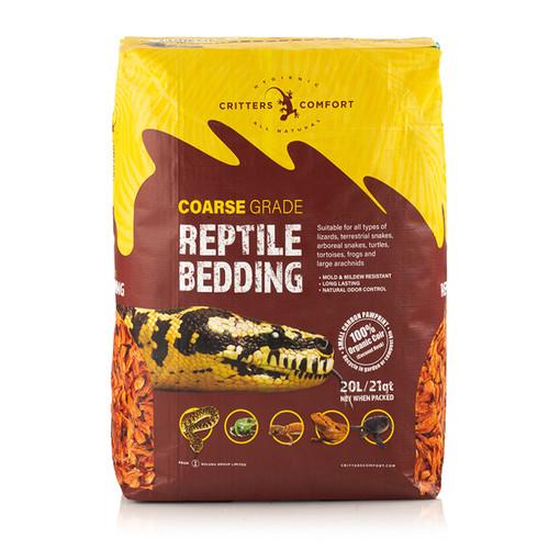 Reptile One Critters Comfort Reptile Bedding Course 20L (45552)