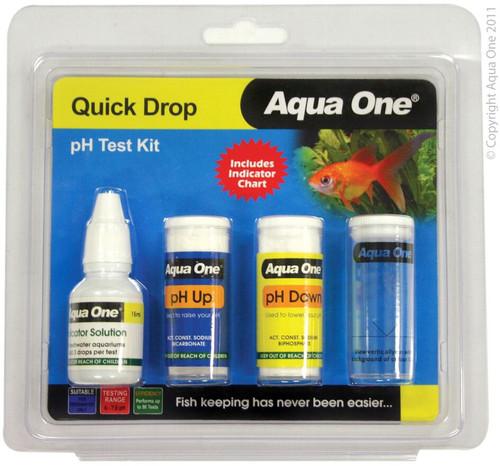 Aqua One Quick Drop Test Kit - pH 6 to 7.8 (92000)