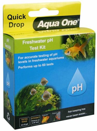 Aqua One Quick Drop Test Kit - Freshwater pH (92051)